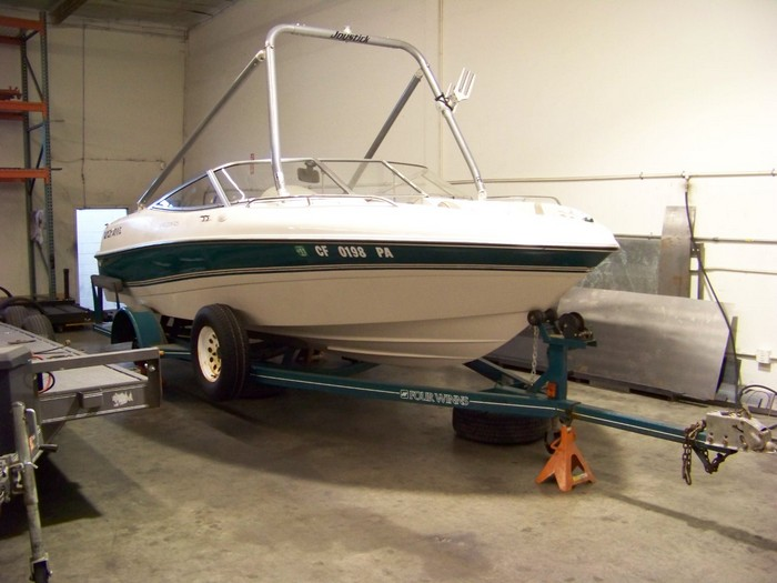 Boat Trailer Replace Mainframe