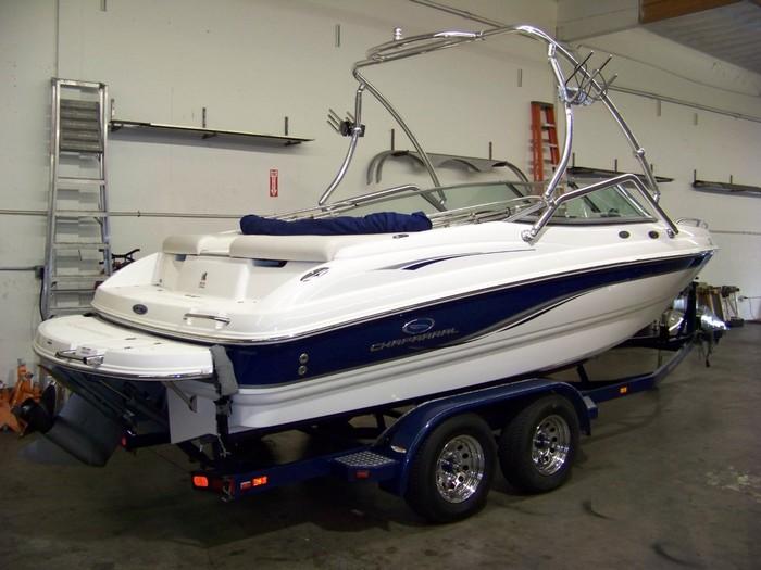 Boat Trailer Spare Tire Mount