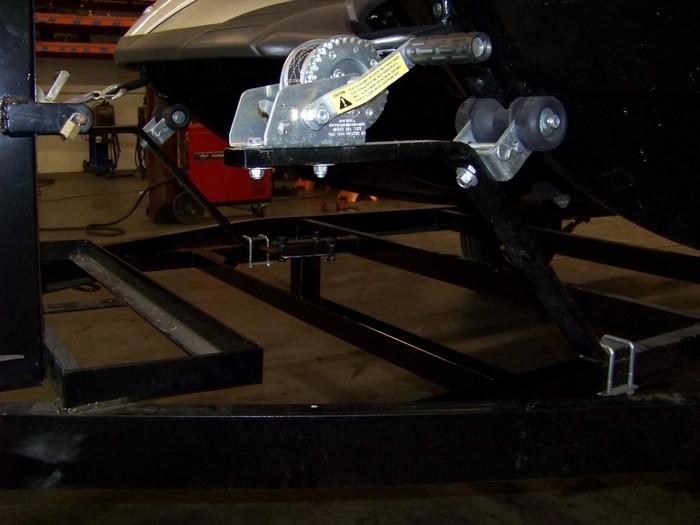 Jet Ski Trailer- Spare Tire Mount