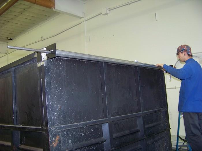Dump Trailer Tarp Install