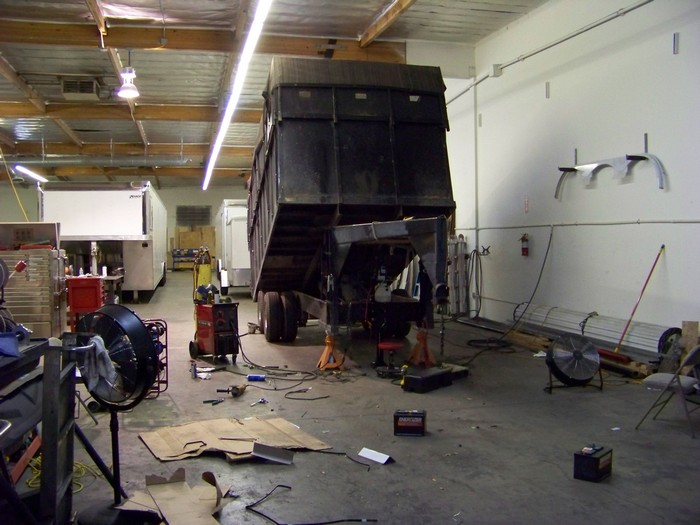Large Dump Trailer Repair