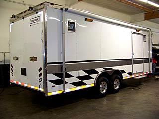 Enclosed Race Trailer