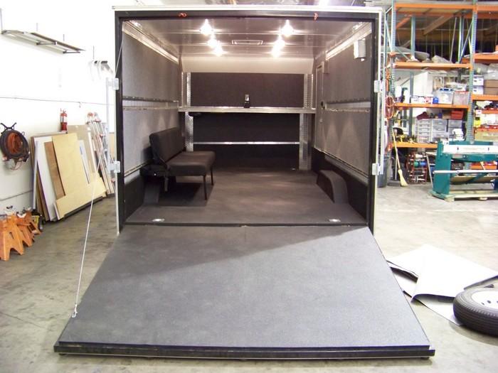 Custom E-Track Bed Brackets