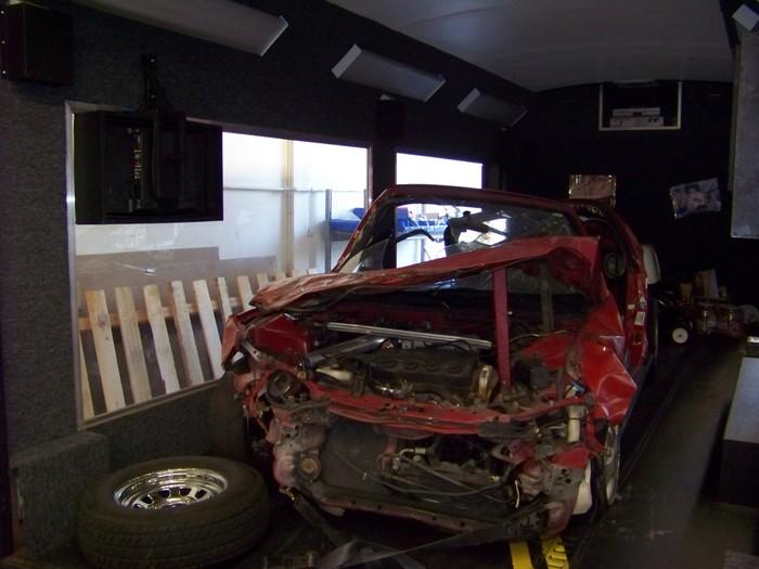 DUI Crash Car Display Trailer