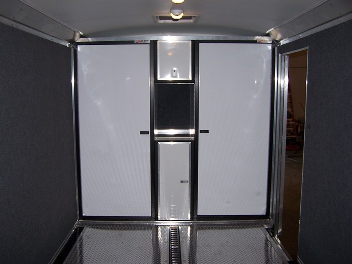 Harley Hauler with Cabinets