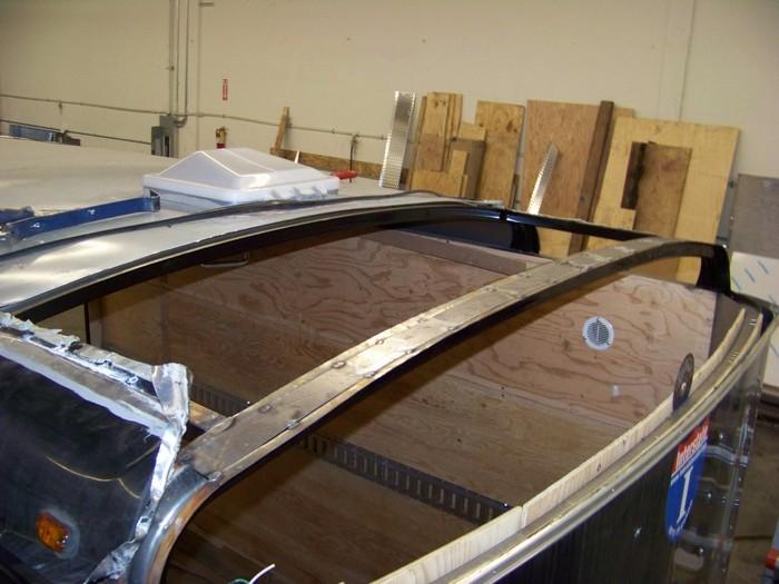 Interstate Trailer Roof Repair