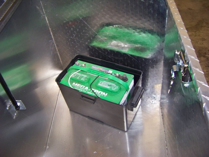 Tongue Box & Battery Install