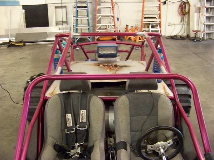 Two-Seater Cross Bracing