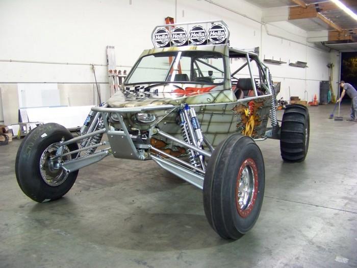Woody Sand Car