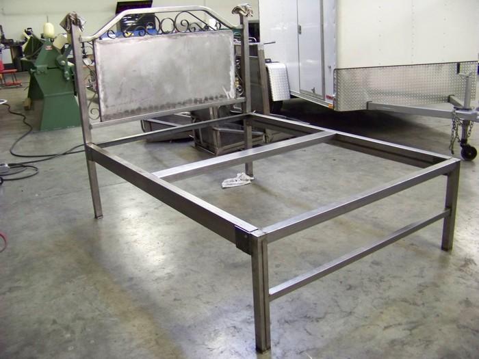 Custom Steel Beds