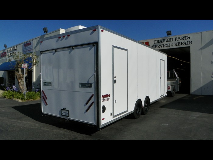 Extreme Makeover Production Trailer