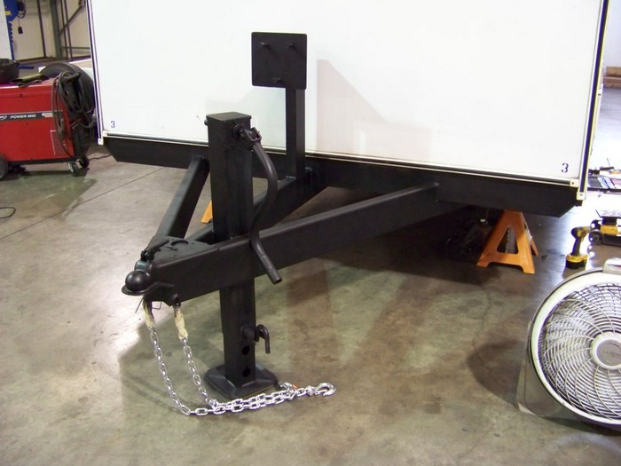 Spare Tire A-Frame Mounts