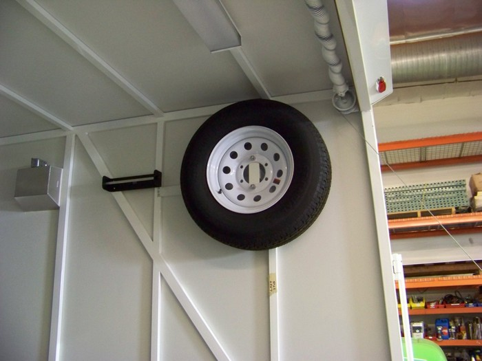 Spare Tire In-Frame Mounts