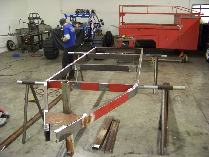 Utility Bed Trailer Build