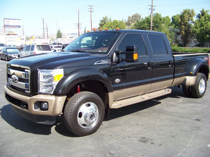 2011 Ford F-450 Air Bag Prototype