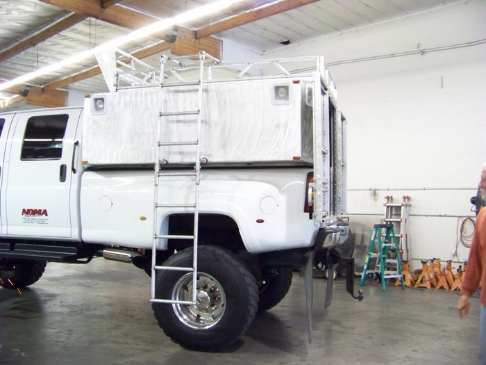 BMW Offroad Chevy Truck