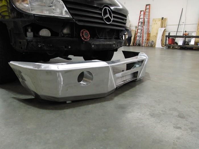 Mercedes Van Aluminum Bumpers