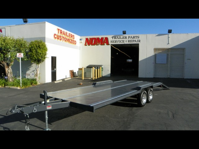 20' Foot Flatbed Trailer