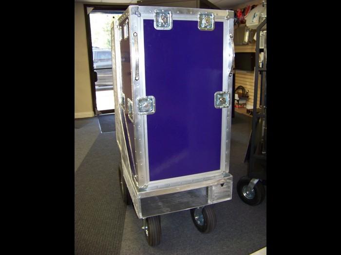 Aluminum Camera Box Cart