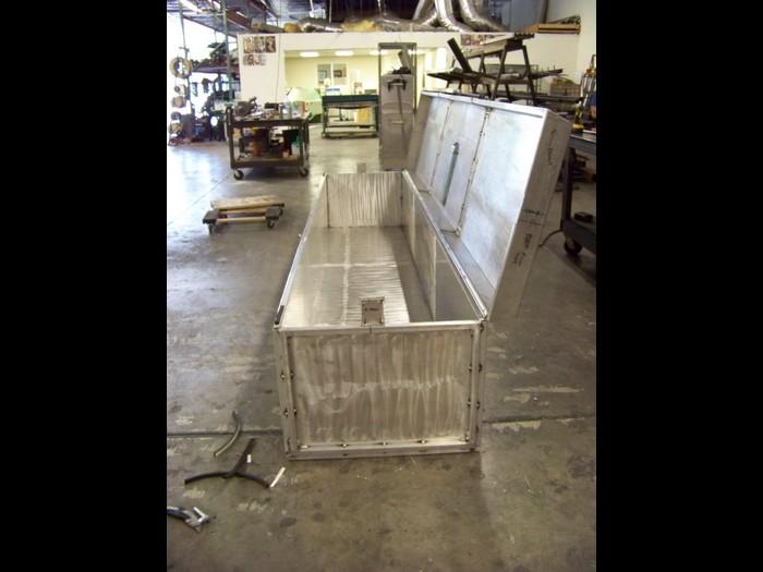 Aluminum Dolly Track Box