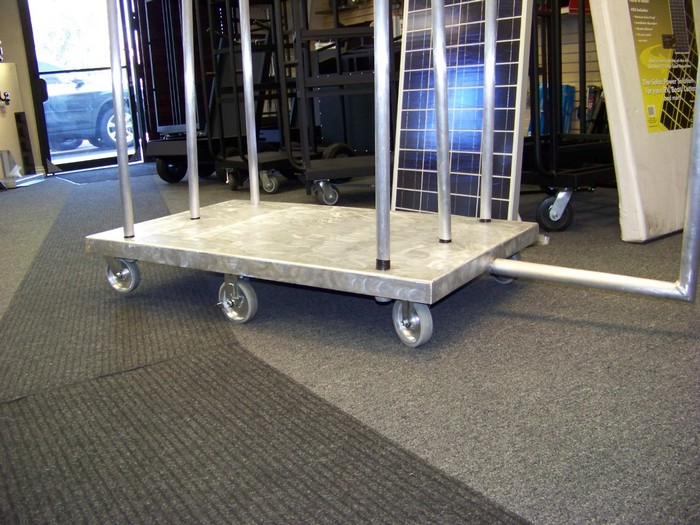 Aluminum Layout Board Cart