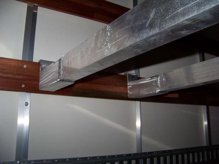 Aluminum Removable Ladder Racks