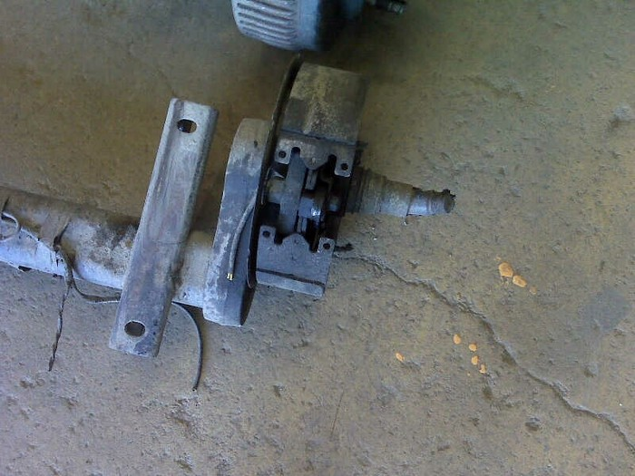 Crane Trailer Axle Repair